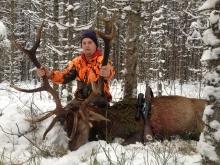 reddeer hunt in estonia 6