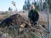 moose hunt in Estonia_women hunters2