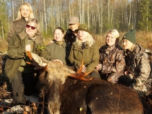 moosehunting in Estonia 2017